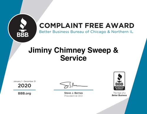 Better Business Complaint Free Award